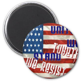 Together We Resist 2 Inch Round Magnet