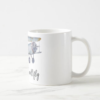 Together we will fly coffee mug
