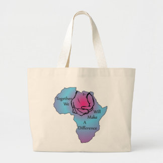 Together We Will Make a Difference Tote Bags