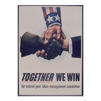 Together we win custom invites
