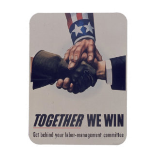 Together we win magnet