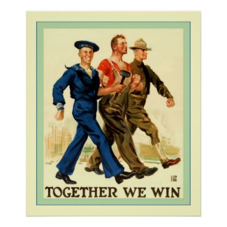 Together We Win ~ Vintage World War 1