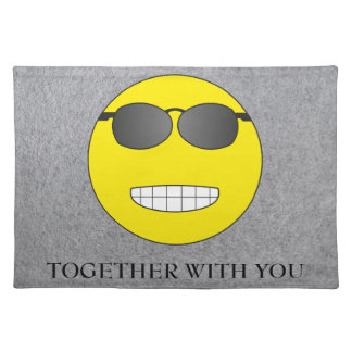 Together with you cloth placemat