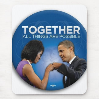together - yes we did! mouse pads
