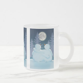 Togetherness Frosted Glass Coffee Mug
