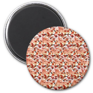 Togetherness stereogram 2 inch round magnet