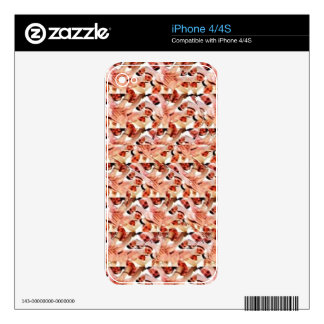 Togetherness stereogram iPhone 4S decals