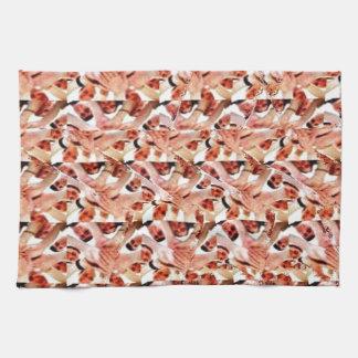 Togetherness stereogram kitchen towel