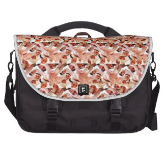 Togetherness stereogram laptop bag