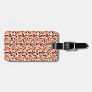 Togetherness stereogram luggage tag