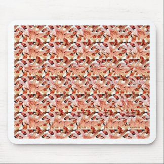 Togetherness stereogram mouse pad