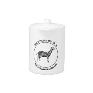 Toggenburg Goat full body Teapot