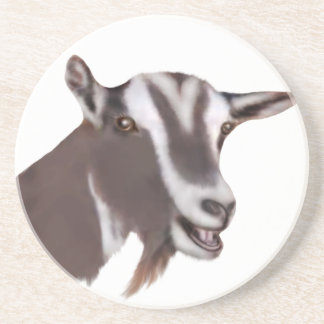 Toggenburg Goat Sandstone Coaster