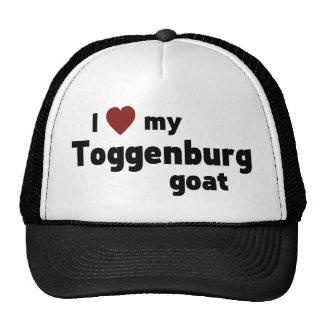 Toggenburg goat trucker hat