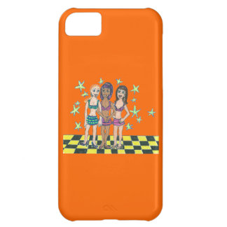 Toggle Girls iPhone 5C Cases