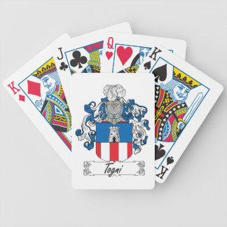 Togni Family Crest Bicycle Poker Deck