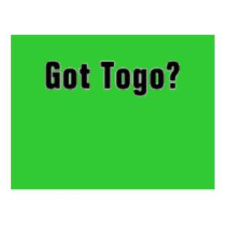 Togo 'Africa' (Got Togo) T-Shirt and etc Postcards