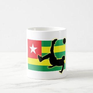 Togo Bicycle Kick Classic White Coffee Mug