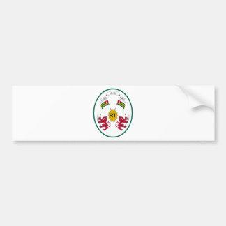 Togo Coat of Arms Bumper Sticker