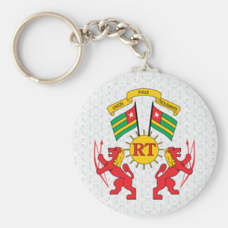 Togo Coat of Arms detail Key Chains