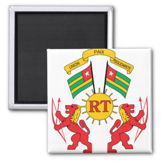 Togo Coat of Arms detail Magnets