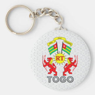 Togo Coat of Arms Key Chain
