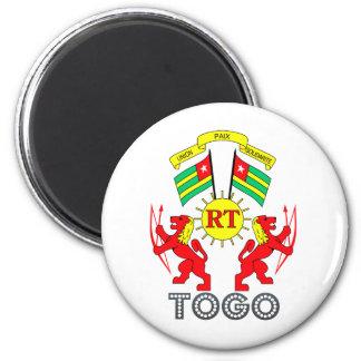 Togo Coat of Arms Refrigerator Magnet