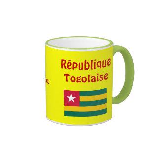 Togo Cofee Mug*/Togo-Kaffee-Haferl Taza A Dos Colores