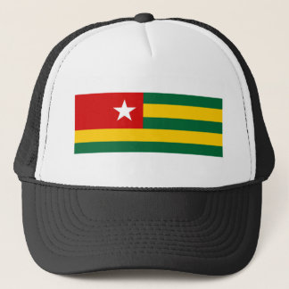 togo country flag nation symbol trucker hat