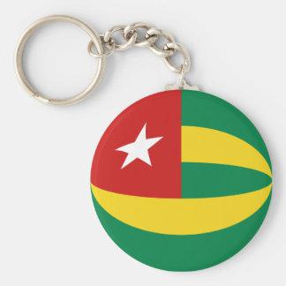 Togo Fisheye Flag Keychain