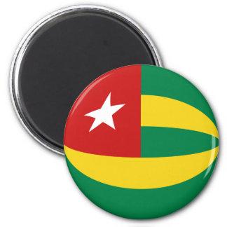Togo Fisheye Flag Magnet