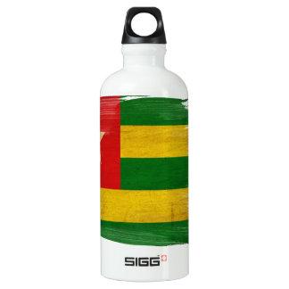 Togo Flag Aluminum Water Bottle