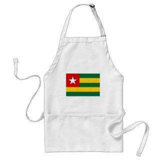 Togo flag aprons