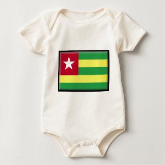 Togo Flag Baby Bodysuits