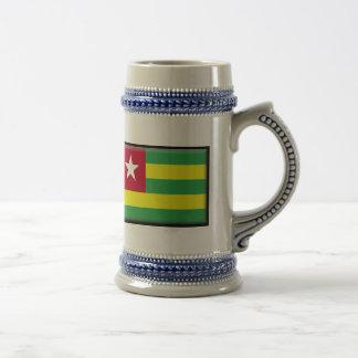 Togo Flag Beer Stein