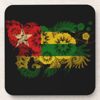 Togo Flag Beverage Coaster