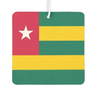 Togo Flag Car Air Freshener