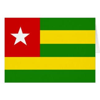 Togo Flag Greeting Cards