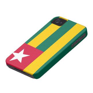 Togo Flag iPhone 4 Case-Mate Case