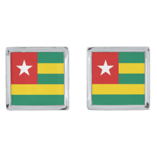 Togo Flag Cufflinks