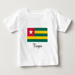 Togo Flag Design Baby T-Shirt