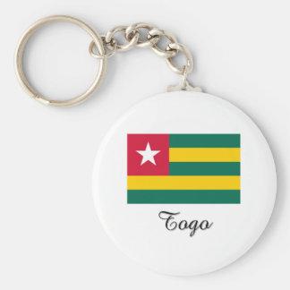 Togo Flag Design Key Chain