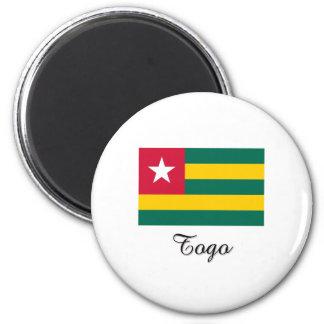 Togo Flag Design Fridge Magnet