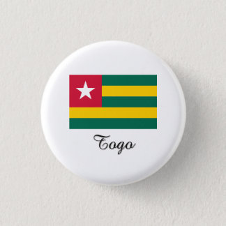 Togo Flag Design Pinback Button