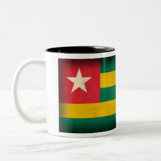 Togo Flag Distressed Mug