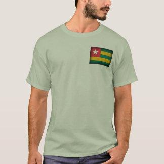 Togo Flag Distressed T-Shirt