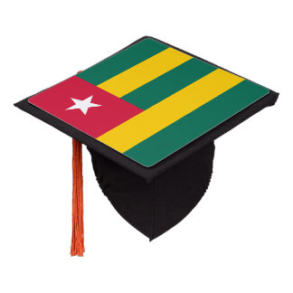 Togo Flag Graduation Cap Topper