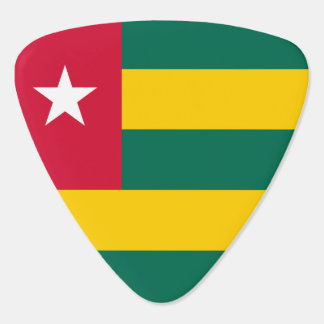 Togo Flag Guitar Pick