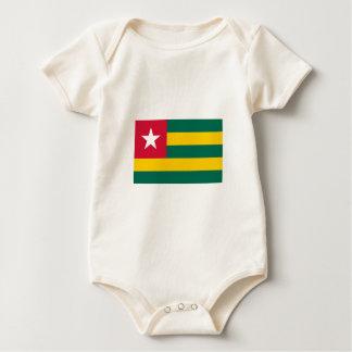 Togo FLAG International Baby Bodysuit