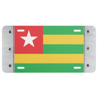 Togo Flag License Plate